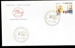 1998 ANNULLO FDC Fiere Nell´economia. 8ª Serie. Fiera Internazionale Della Sardegna, Cagliari. - Filatelia & Monete