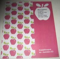 suppl�ment pomme d'api n� 43 d�coupage jeu chasse animaux for�t pommes en couverture