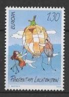Liechtenstein (2004) Yv. 1281  /  Balloon - Travel - Voyage - Europa CEPT Europe - Transport
