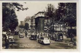 PARIS - Les Grands Boulevards, Portes St. Martin Et St. Denis, Animation,  Real Photo,  Animation - Transport Urbain En Surface