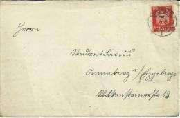 ALEMANIA CC 1926 MAT WORMS SELLO AGUILA - Deutschland