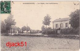 51 - SOMMESOUS (Marne) - La Gare, Vue Extérieure - Années 1910 - France