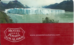 Llave Clef Hotelkarte Keycard  HOTEL POSADA LOS ALAMOS - ARGENTINA - Hotel Labels