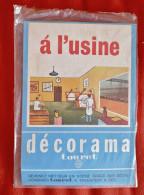 Decorama Touret - A L´usine - Decalcomanie - Vieux Papiers