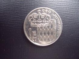 UNE PIECE  DE MONNAIE  DE MONACO  DE 1 FRANC  1978 - Monaco