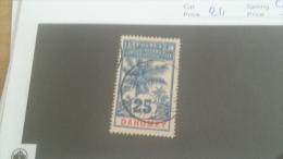 LOT 228091 TIMBRE DE COLONIE DAHOMEY OBLITERE N�24 VALEUR 14 EURS