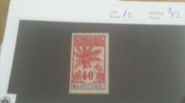 LOT 228106 TIMBRE DE COLONIE MAURITANIE NEUF* N�10 VALEUR 12 EUROS