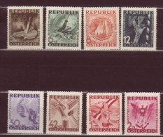 AUTRICHE, Série N° 638 à 645, Neuf**( 1406/05) - 1945-60 Neufs