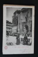 FOIX             CARTE  DOS  UNI            1904 - Foix