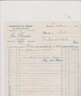 ( COTES  DU NORD )QUINTIN , Manufacture De Chemises , JEAN BONHEUR , Les Rochers - Vestiario & Tessile