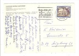 AUTRICHE - AUSTRIA - OSTERREICH - CARTE POSTALE - TIMBRE ET CACHET - Poststempel - Freistempel