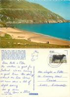 Keem Bay, Achill Island, Co Mayo, Ireland postcard posted 1987 stamp