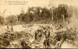 #1539 Belg. Congo Stationery Mint, 45c.  Mines De Diamant Au Kasai - Diamant Mining Of Kasai - Minerals