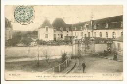 CPA 21 SEMUR 1906 Hôpital Séjour De La Marquise Du Chatelet Et De Voltaire - Semur