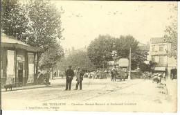 CPA TOULOUSE Carrefour Arnaud Bernard Et Boulevard Lascrosse 10938 - Toulouse