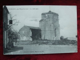 AL6- 85 - THORIGNY - LA VIEILLE EGLISE (2) - France