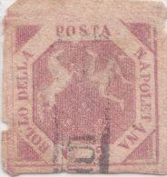 SI53D Italia Italy ANTICHI STATI Napoli 2 Grana - Stemma Delle Due Sicilie 1858 Usato Come Da Foto - Naples