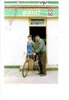 21 - AISEREY - Côte D´Or - Fermeture Du POINT COOP Le Mars 1993 - Magasin Gros Plan - Le Dernier Client Vélo Bicyclette - France