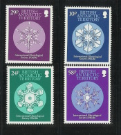 British Antarctic Territory 1986 International Glaciological Society MNH - Unclassified