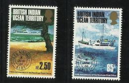 British Indian Ocean Territory 1973 5th Anniversary Of The Nordvaer Post Office MNH - British Indian Ocean Territory (BIOT)
