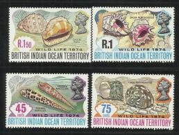 British Indian Ocean Territory 1974 Marine Life MNH - British Indian Ocean Territory (BIOT)