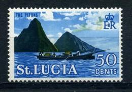 SAINT  LUCIA   1964   50c  Multicoloured     MH - St.Lucia (...-1978)
