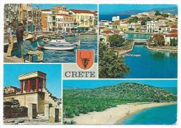 Multivues -CRETE -Grèce -Ecrite 1979 - Grecia