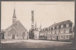 61----LA CHAPELLE-MONTLIGEON--Place Eglise--(sans Légende) - Sonstige Gemeinden