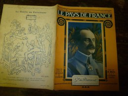 1918 LPDF:Couverture De Dos GUS BOFA; Peronne,Bapaume,Varesnes, Sempigny,Brétigny;LENS;Tunnel De GIBRALTAR; Radis-santé - Revues & Journaux