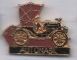 Beau Pin's , Auto Ancienne , Autonabil , Marseille - Badges