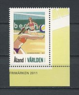 ALAND 2011 N° 349 ** Neuf = MNH Superbe Cote 2,90 € Sports Beach Volleyball - Aland