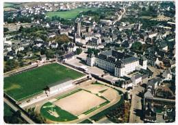 FR-2866     CARHAIX : Le College Et L'Eglise Saint-Tremeur - Carhaix-Plouguer
