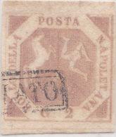 SI53D Italia Italy ANTICHI STATI Napoli 2 Grana - Stemma Delle Due Sicilie 1858 Usato - Naples