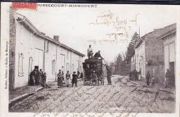 JUSSECOURT MINECOURT TOP CARTE  FIACRE LIAISON ENTRE PARGNY HEILTZ / MAURUPT - France