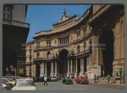 T6748 NAPOLI TEATRO S. CARLO E GALLERIA UMBERTO AUTO VG (m) - Napoli