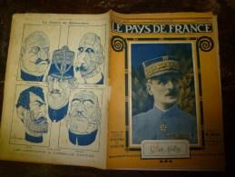 1918 LPDF:Les Malgaches;Précision Du Tir Longue Portée;Canon 155 Long;Mt-Renaud;Exécution Bolo;Crise Lunaire;Recul Vigne - Revues & Journaux
