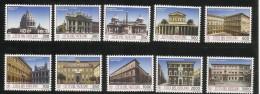 Vatican City 1993 Buildings MNH Set - Vatican