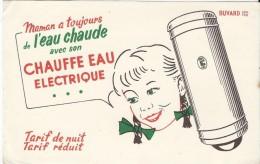 Chauffe Eau électrique/Maman A Toujours De L'eau Chaude /Vers 1950   BUV161 - Electricity & Gas