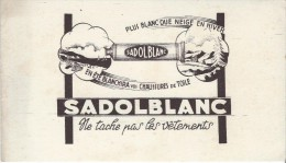 Sadol Blanc / Produit à Blanchir  Les Chaussures En Toile  /Vers 1950   BUV163 - Blotters