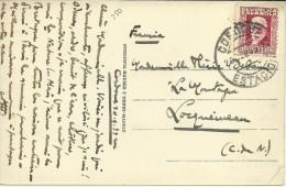 TP CON MAT CORDOBA ESTACION FERROCARRIL1933 - 1931-50 Cartas
