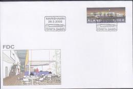 ALAND 2002 Post Terminal FDC - Aland
