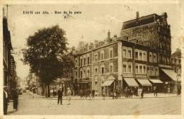 ESCH-SUR-ALZETTE - GRAND DUCHE DU LUXEMBOURG - PEU COURANTE CPA ANIMEE DE 1931. - Esch-Alzette