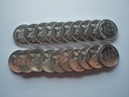 Croatia, Lot Of 20 Coins, 2 Lipe 2007 - UNC - Croatia