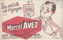 Bagage/ Article De Voyage / Marcel AVEZ/ Havas/ EFGE / Valenciennes /Vers 1955   BUV167 - Buvards, Protège-cahiers Illustrés
