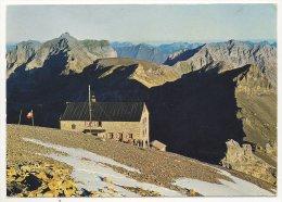 2351 - AK Morgenstimmung Auf Dem Hohtürli, Blümlisalphütte, Clubhütte SAC - BE Berne