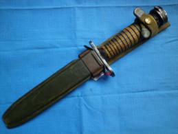 Couteau Baïonnette Américaine Marqué - 1939-45