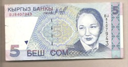 Kirghizistan - Banconota Circolata Da 5 Som - 1997 - Kirghizistan