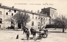 LA CHAISE-DIEU COURS LAFAYETTE SALLE DE L'ECHO ATTELAGE DE BOEUFS - La Chaise Dieu