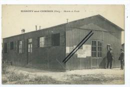 CPA - Margny Aux Cerises- Mairie Et Ecole - Ohne Zuordnung