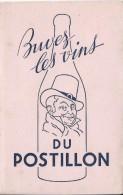 Vins Du Postillon /Buvez Les Vins Du Postillon / /Vers 1955   BUV172 - Alimentaire